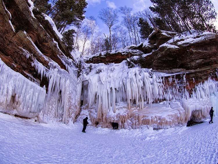 غار یخی دریاچه سوپریور7