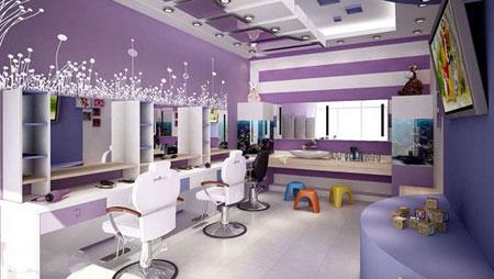 لوکس ترین مدل آرایشگاه, طراحی آرایشگاه زنانه