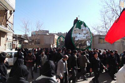 آداب و رسوم تفرش در تاسوعا و عاشورای حسینی, رسوم مختلف