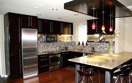 تصاویر دیزاین آشپزخانه مدرن و شیک, دکوراسیون