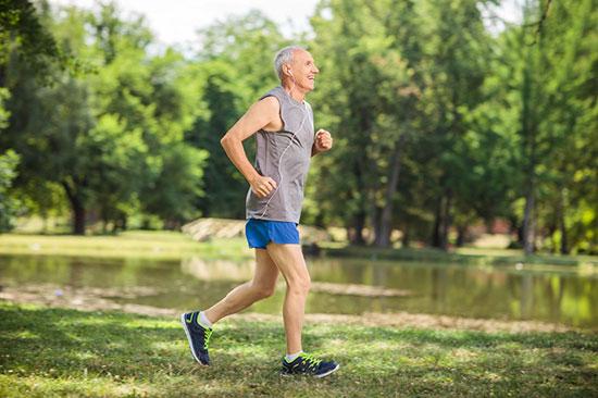نکات دویدن برای افراد مسن