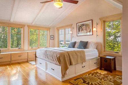 بزرگ کردن اتاق خواب کوچک,دکوراسیون اتاق خواب کوچک