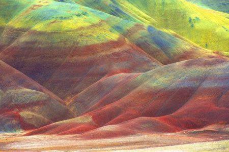 کویری شبیه به تابلو نقاشی + عکس, توریسم, گردش, گردشگری, مسافرت, مکان های توریستی, مکان های گردشگری