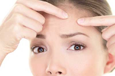 درمان جوش های زیر پوستی, آرایش و زیبایی
