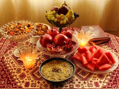 رسوم شب یلدا در ایران , رسوم شب چله