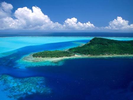 جزیره,جزیره بورا بورا,تصاویر جزایر بورا بورا