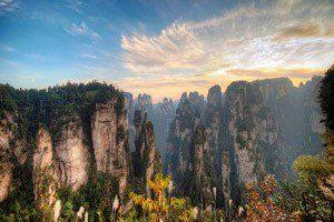 تصاویر طبیعت هونان یکی از زیباترین مناطق تفریحی چین, طبیعت