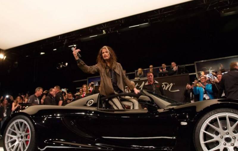 خودروی استیون تایلر ۸۰۰ هزار دلار فروخته شد, خودرو