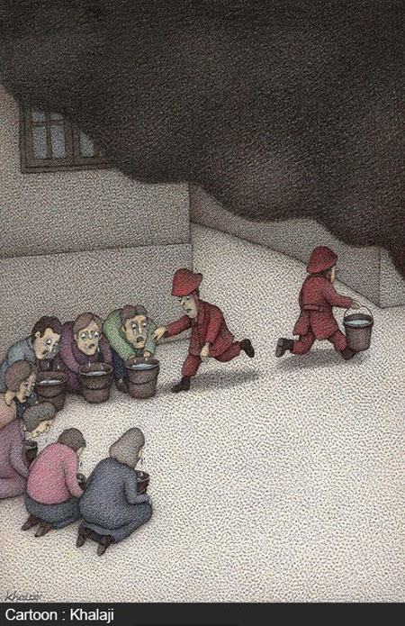 کاریکاتورهای مفهومی و جالب (30), طنز و کاریکاتور