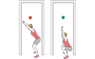 حرکت لانچ,ورزش درمانی,درمان با ورزش