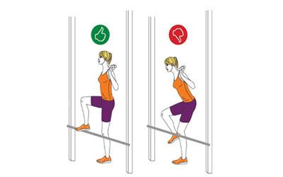 تست های آمادگی جسمانی,حرکت اسکوات,غربالگری آمادگی بدنی