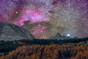 عکس های آسمان زیبا و ترسناک روستای والس در سوئیس, طبیعت