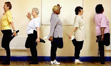 راههای افزایش تعادل, ورزش سالمندان,ورزش برای افزایش تعادل