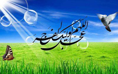 دعای امام زمان علیه السلام, دعا