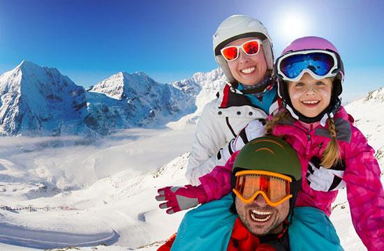 راهنمای مراقبت از پوست برای اسکی بازان