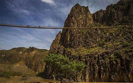 پل معلق پیر تقی؛ یکی از بلند ترین پل های معلق ایران, به کجا سفر کنیم, توریسم, راهنمای گردشگری, سفر, گردش, گردشگری, مسافرت, مکان های توریستی, مکان های گردشگری