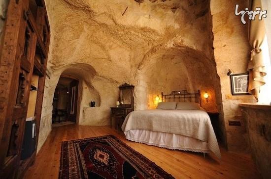 هتلهای لوکس در خانههای باستانی کاپادوکیا