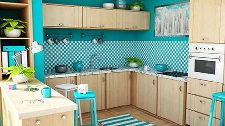 دکوراسیون آشپزخانه, دکوراسیون و چیدمان آشپزخانه