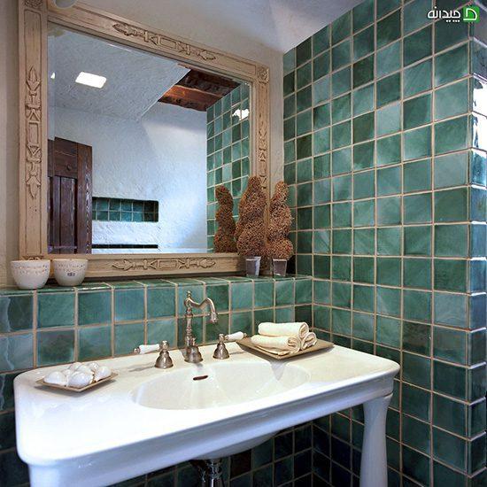 کاشی حمام، سرویس بهداشتی سبز شما را جوان می کند!