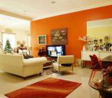 نکاتی برای استفاده از رنگ نارنجی در دکوراسیون