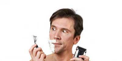 اصلاح صورت مردان