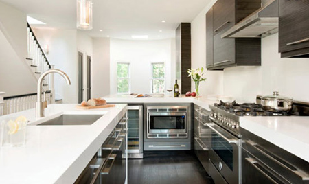 اصول نوسازی آشپزخانه,سنگ های کابینتی