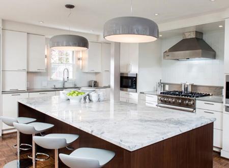 سنگ مناسب کابینت آشپزخانه,نحوه انتخاب سنگ کابینت