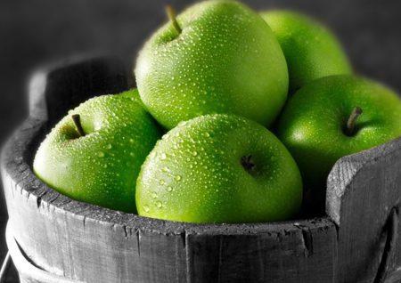 خواص سیب سبز, خواص مواد غذایی