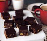 طرز تهیه مکعب های شکلات