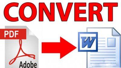 چگونگی تبدیل فایل های PDF به Word؟