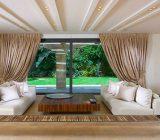 راهکارهایی برای بلند نشان دادن سقف