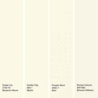رنگ های جایگزینی رنگ سفید در دکوراسیون خانه