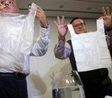 کیسههای غیر پلاستیکی حل شونده در آب