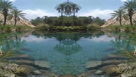 چشمه دمدمی مزاج هرمزگان