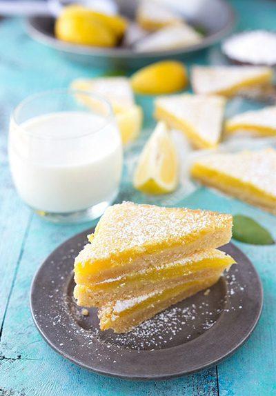 مواد لازم برای تهیه شیرینی لیمویی پاییزی, طرز تهیه شیرینی لیمویی پاییزی