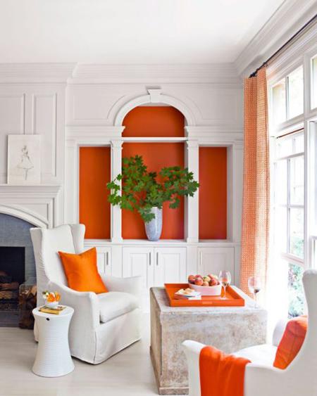 رنگ های چیدمان پاییزی,دکوراسیون و چیدمان خانه به رنگ پاییزی