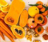 فواید 5 میوه و سبزی نارنجی رنگ