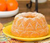 طرز تهیه کیک ماست نارنگی