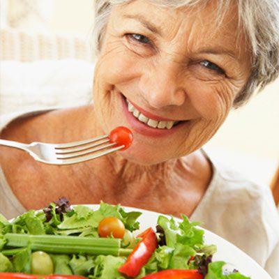 توصیههایی برای طول عمر و زندگی سالمتر سالمندان, تغذیه, رژیم