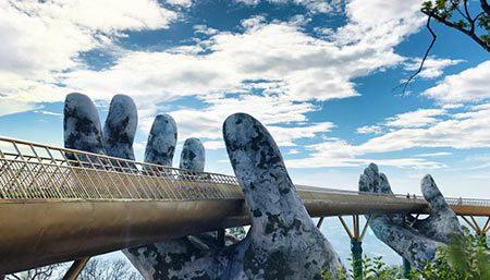 پل طلایی بر روی دستان طبیعت(+تصاویر), توریسم