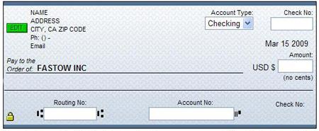 چک الکترونیکی,چک الکترونیکی چیست