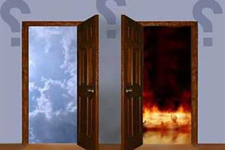 شکل درهای بهشت و جهنم چگونه است؟, احکام ، اعمال و دانستنی های مذهبی