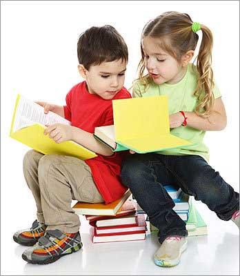 چگونه کودکان را به کتاب خواندن علاقه مند کنیم؟, بچه