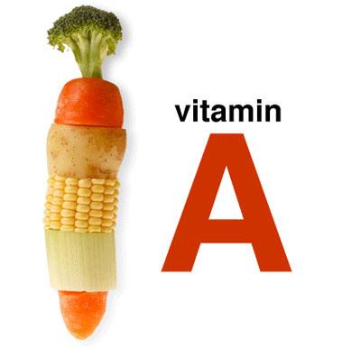 ویتامین آ, خشکی چشم