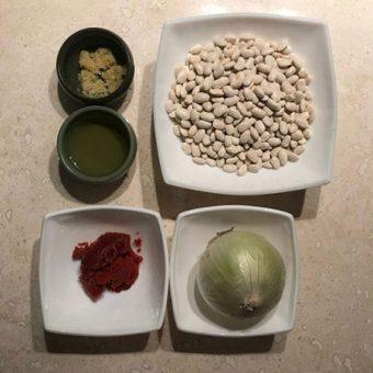 آموزش تهیه خوراک لوبیا سفید مرحله به مرحله