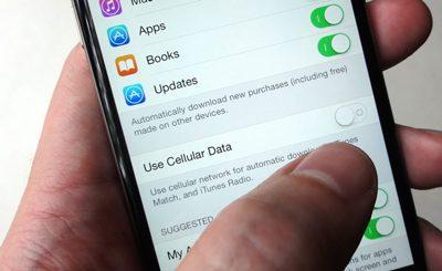 اپلیکیشن های آیفون را در مصرف اینترنت همراه محدود کنیم, کامپیوتر