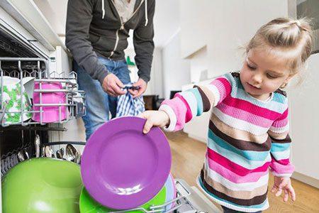 راه های مسئولیت پذیر کردن فرزندان, بچه