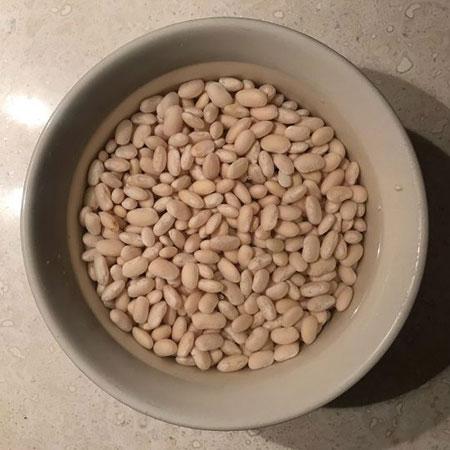آموزش تهیه مرحله به مرحله خوراک لوبیا سفید