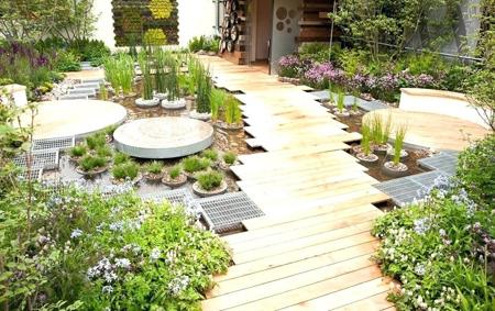 نکاتی برای ساخت بام باغ,تکنیک های ساخت بام باغ