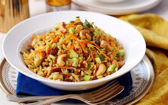 سالاد برنج هندی؛ غذایی گیاهی و مقوی, آشپزی
